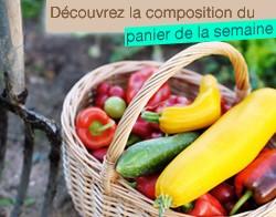 Composition du panier légumes