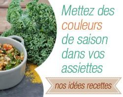 Recettes bio proposé par A Pic Légumes